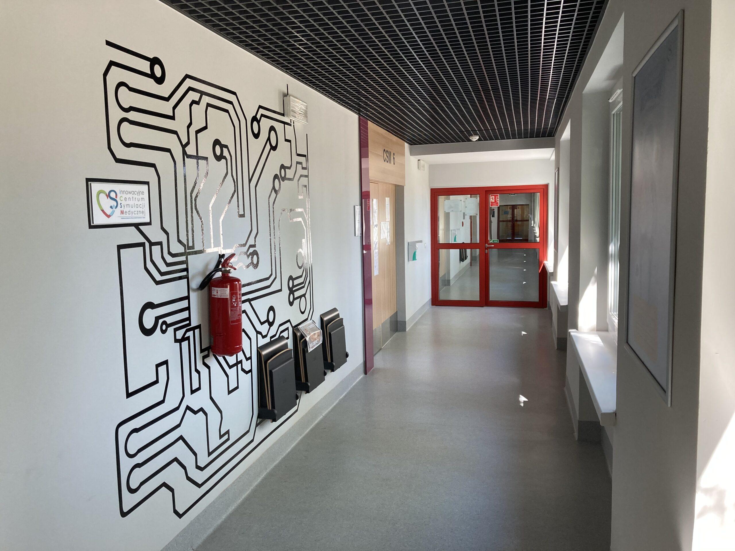 ICSM - korytarz 3